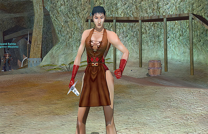 A level 1 Everquest Ranger