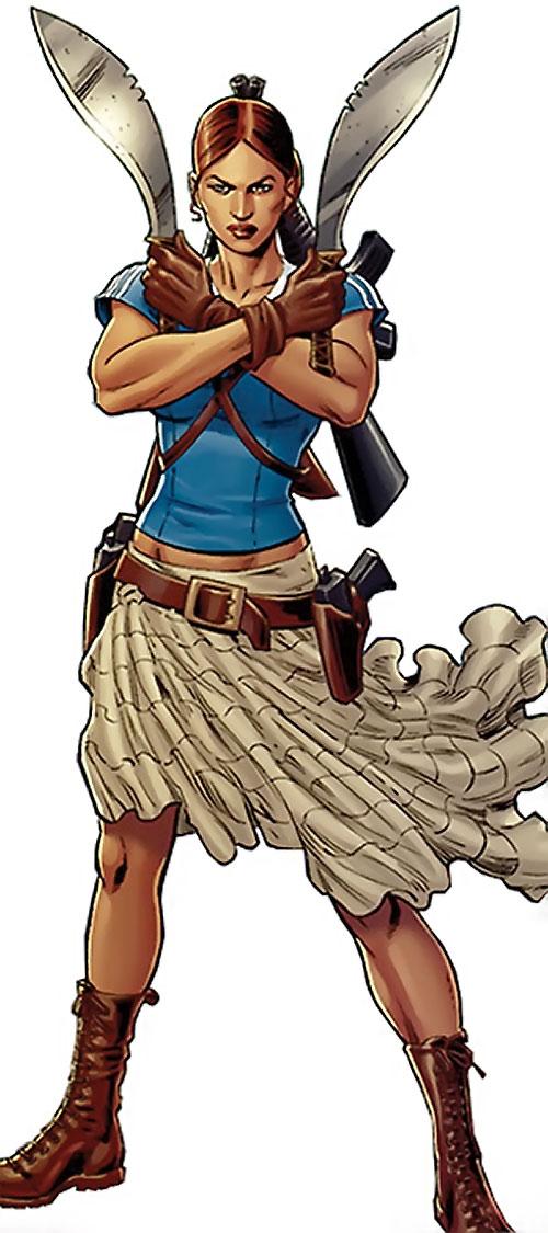 Giuana (Secret 6 enemy) (DC Comics)