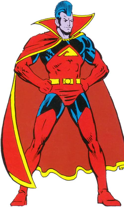 Gladiator (Marvel Comics) (Shi'ar Imperial guard) from the 1983 handbook