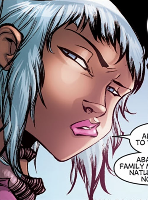 Gleam (Dragon Age comic books) face closeup