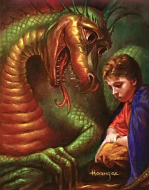 Gleep the dragon - Robert Asprin's MYTH adventures novels
