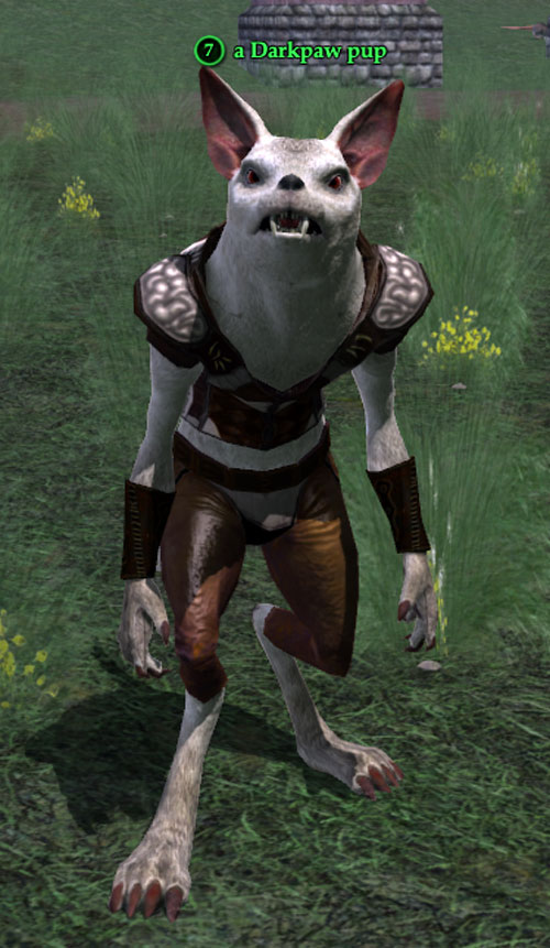 Gnoll in Everquest 2 - pup outside Qeynos