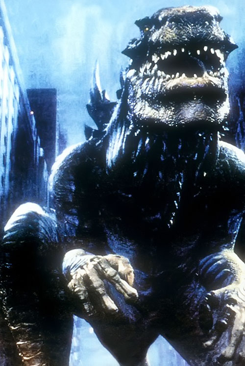 Godzilla (1998 movie version) front view