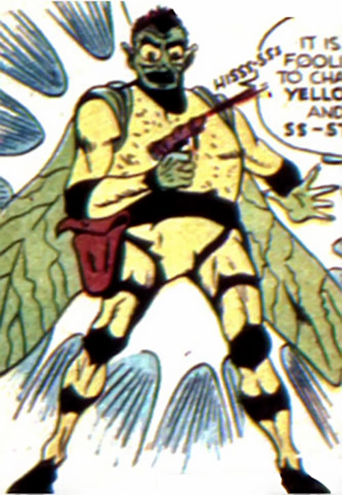 Yellow Wasp (Wildcat enemy) (DC Comics)