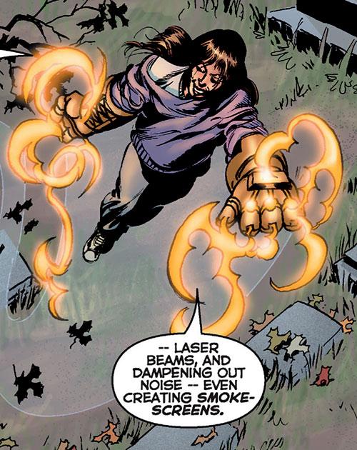Goldengloves (Astro City comics) (Yolanda)