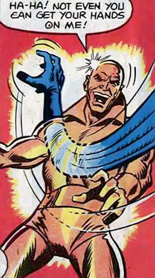 Goldigger (Hostess comics) vs. Mr Fantastic