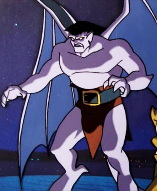 Goliath Cartoon Gargoyles