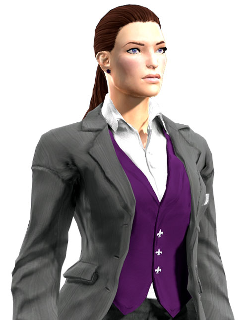 Gom Jabbar (DC Heroes RPG) light grey business suit