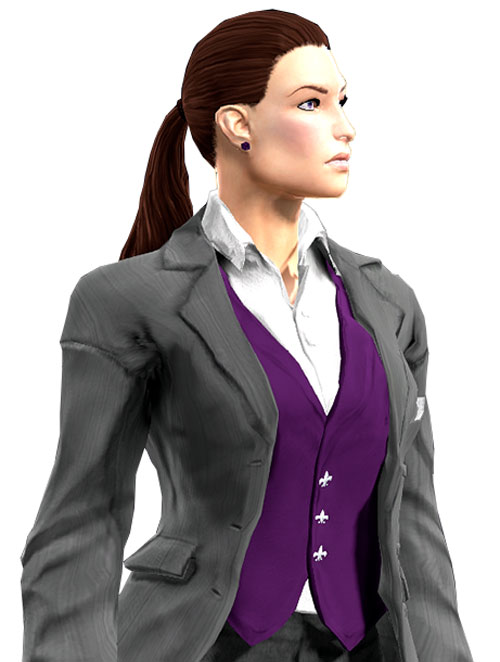 Gom Jabbar (DC Heroes RPG) in a suit side view