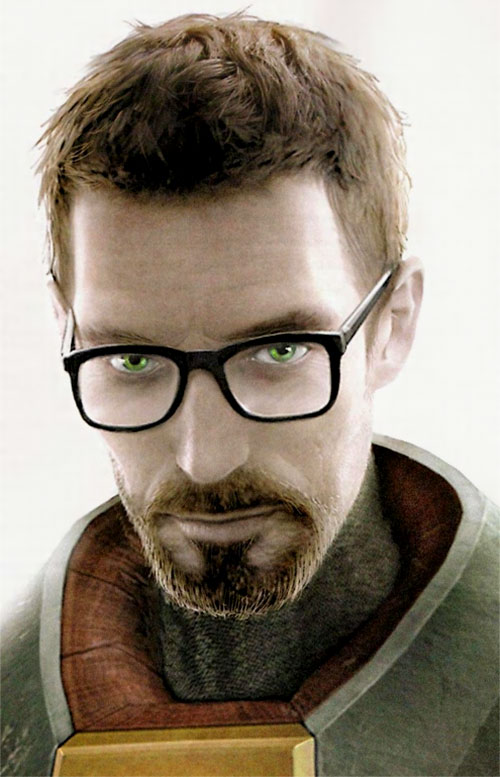 Half-Life - Gordon Freeman - High-definition portrait