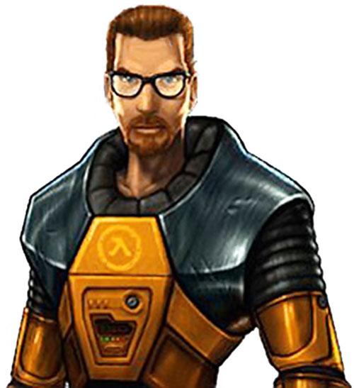 Gordon Freeman Half Life Video Game Character Profile