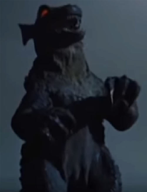 Gorgo (1961 monster movie) claws and fangs