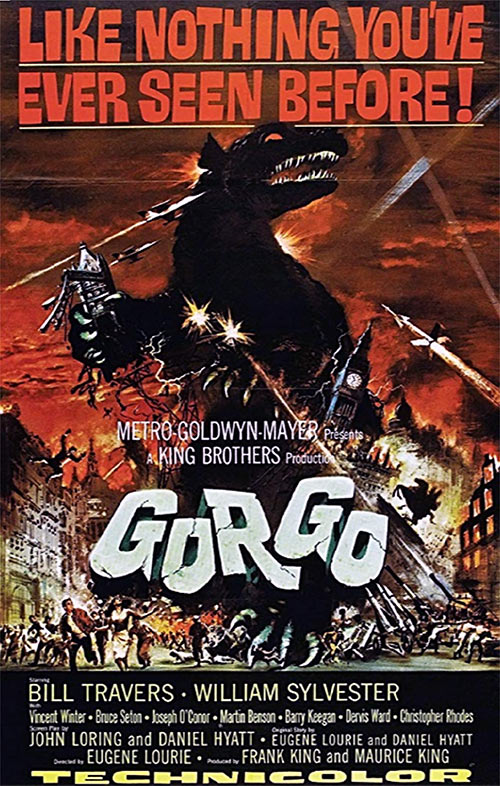 Gorgo (1961 monster movie) poster