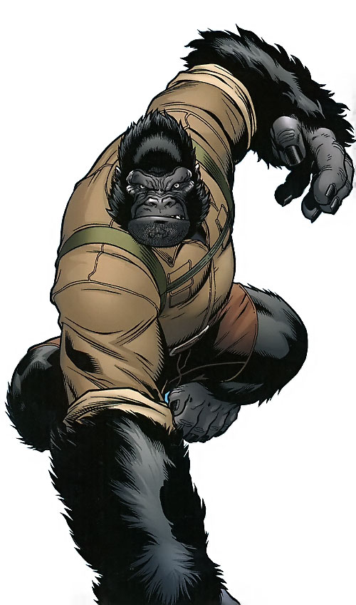 Gorilla-Man of the Agents of Atlas (Marvel Comics)