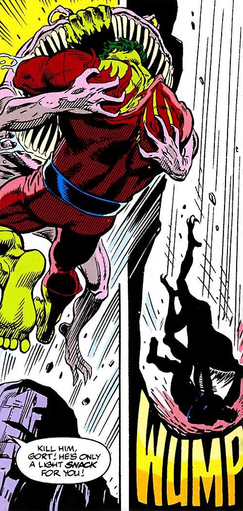 Gort vs. the Hulk (Marvel Comics)