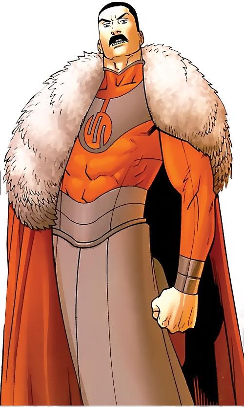Grand Regent Thragg (Invincible Comics) is an evil Freddy Mercury