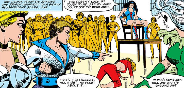 Grapplers - Marvel Comics - vs. Dazzler