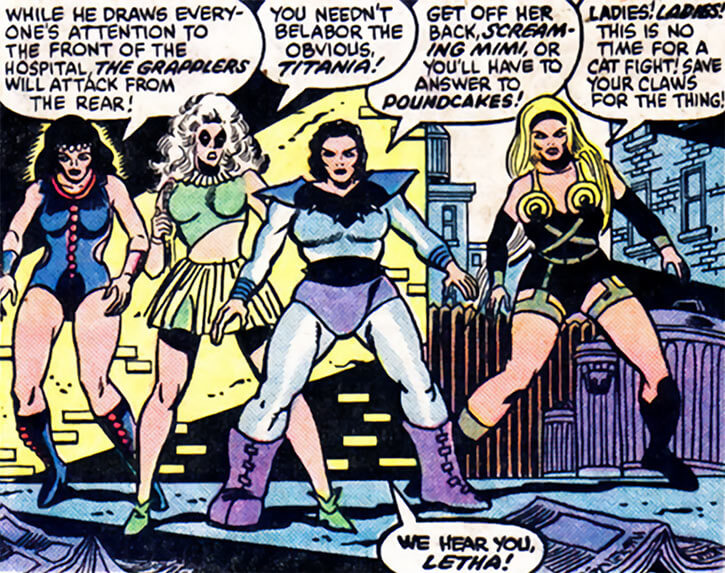 Grapplers - Marvel Comics - 1970s hospital fight