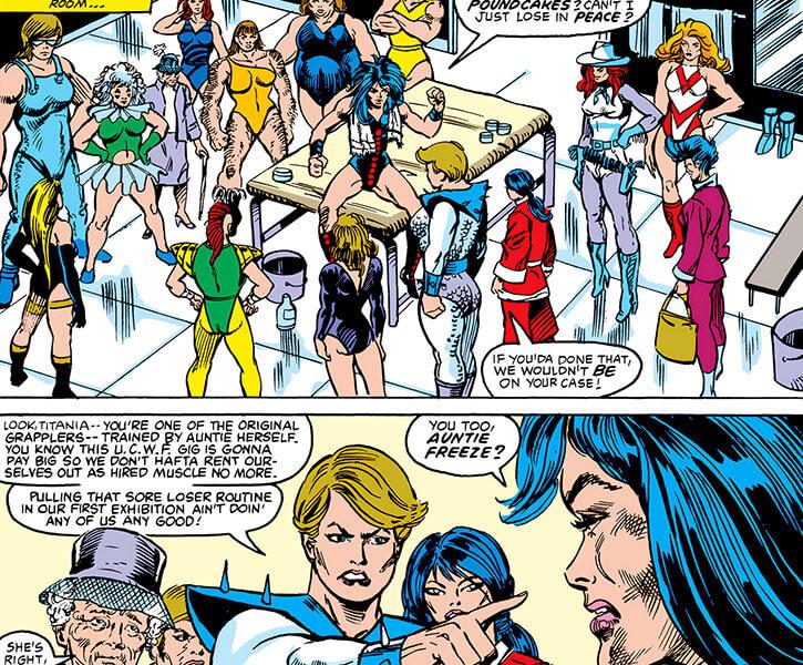 Grapplers - Marvel Comics - New Grapplers and Titania
