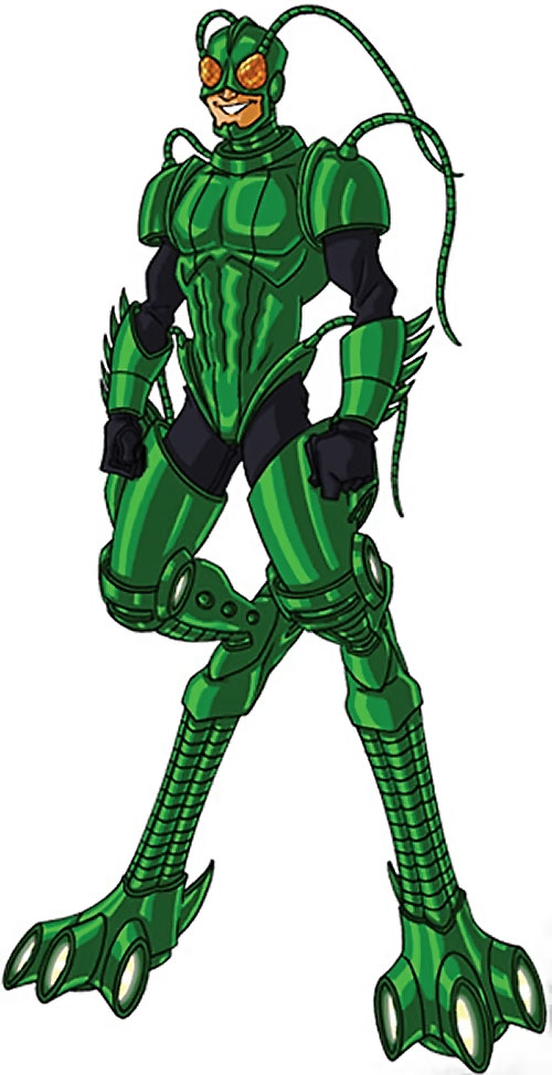Grasshopper (Marvel Comics) by RonnieThunderbolts
