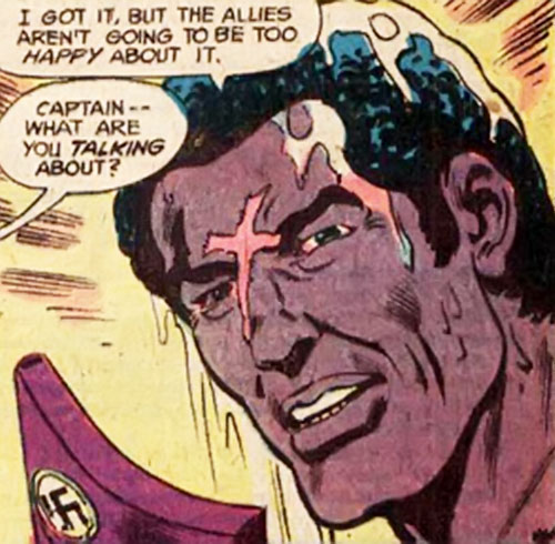 Gravedigger (Captain Ulysses Hazard) (DC Comics) after diving