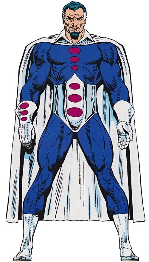 Graviton (Franklin Hall) from the OHOTMU Master Edition