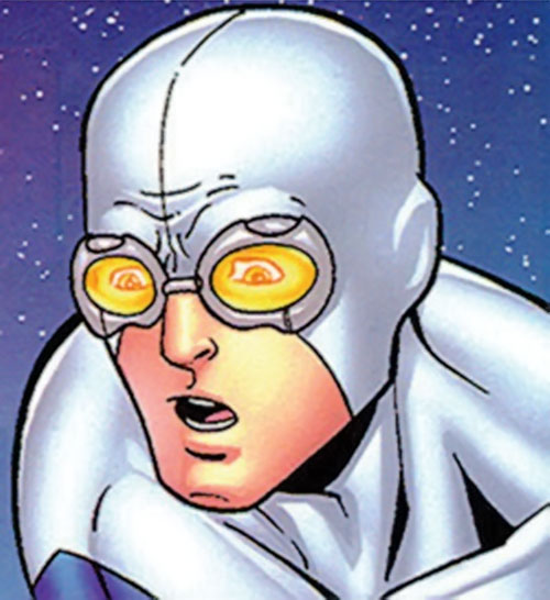 Gravity (Marvel Comics) face closeup