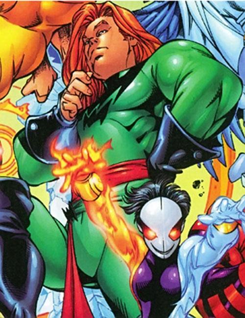 Gray King of Cerebro's X-Men (Marvel Comics) and Crux