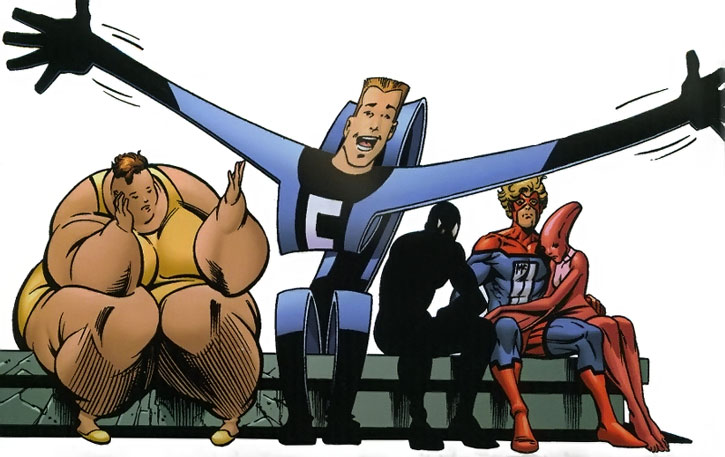 The Great Lakes Avengers with low morale