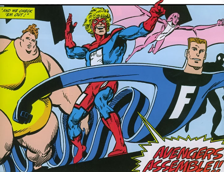 Great Lakes Avengers group shot