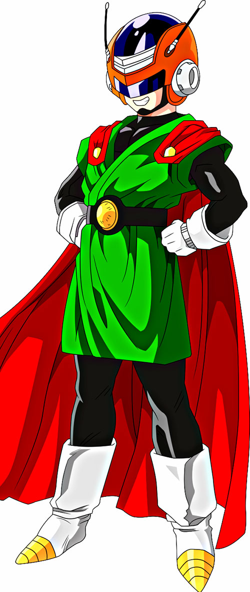 Great Saiyaman (Songohan) (Dragon Ball)