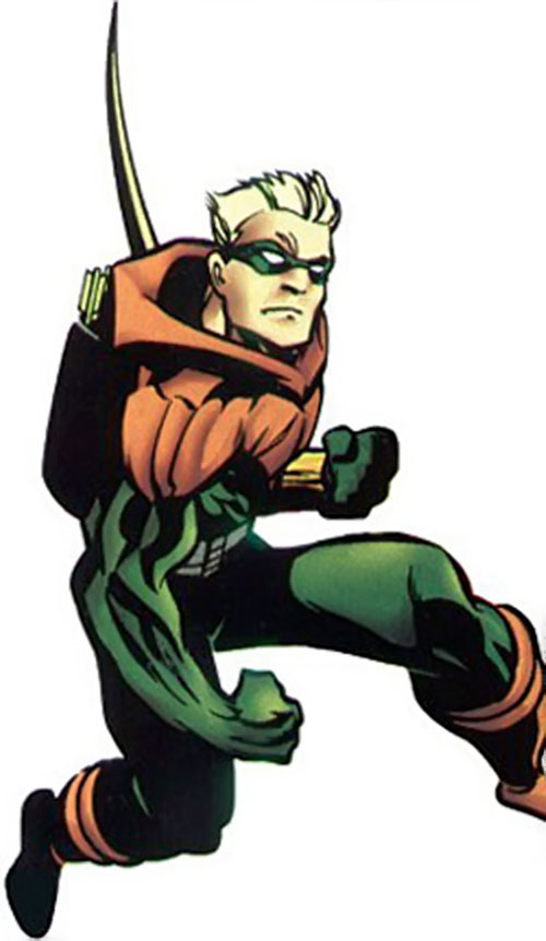 Green Arrow (Connor Hawke) (DC Comics) ready to fight