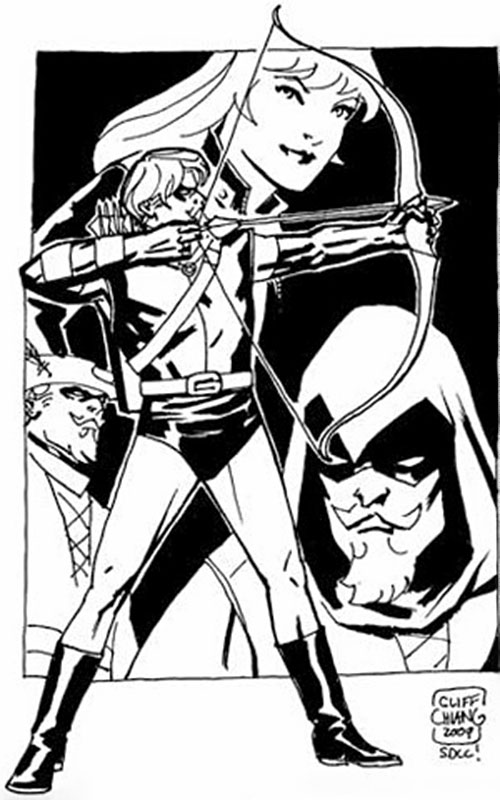 Green Arrow (DC Comics) by Cliff Chiang