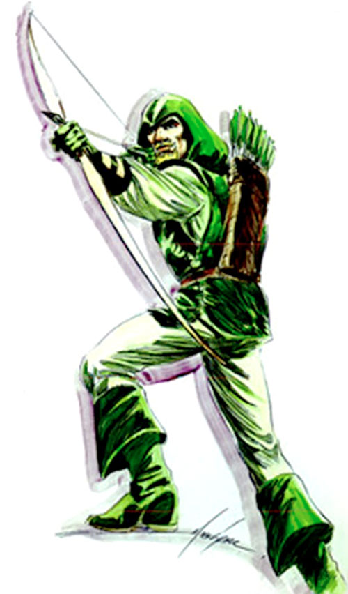 Green Arrow (DC Comics) by Mike Grell 1/2