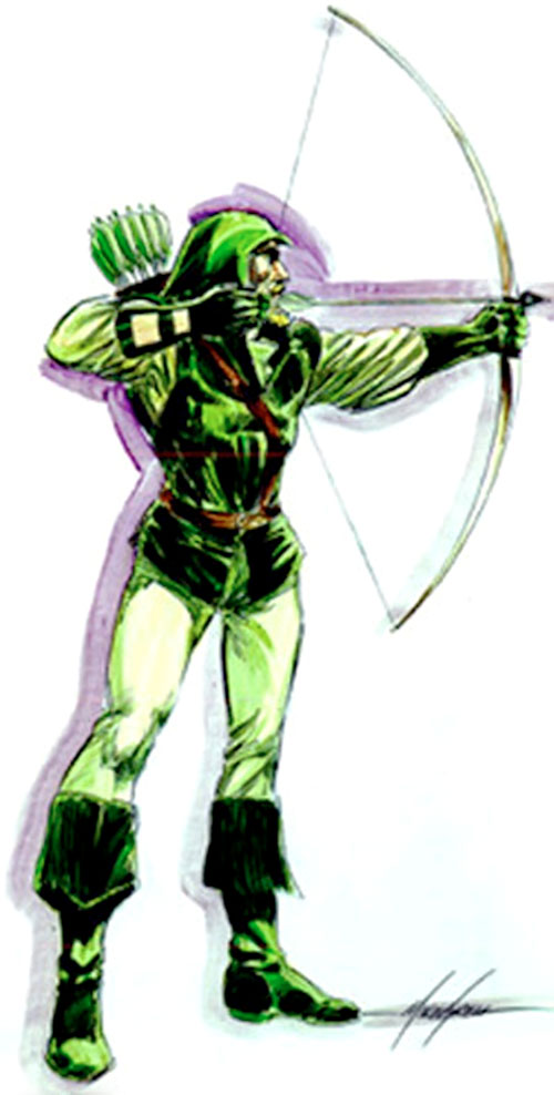 Green Arrow (DC Comics) by Mike Grell 2/2