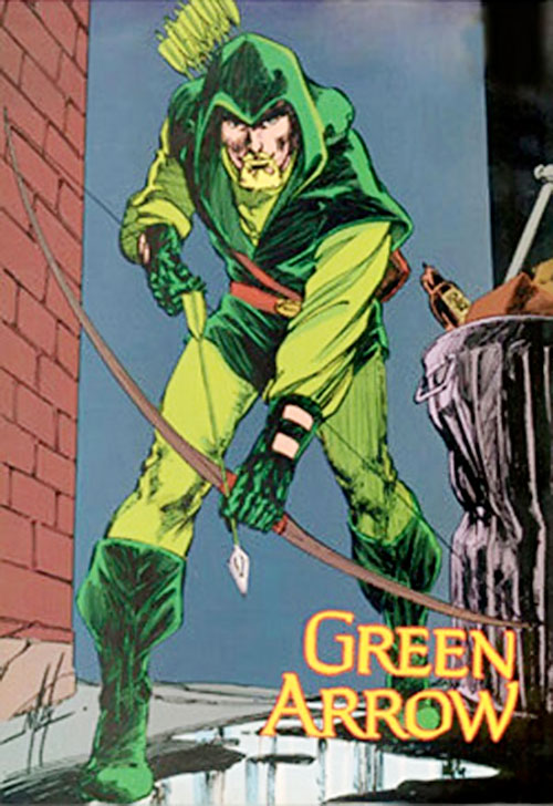 Green Arrow (DC Comics) from the Who's Who