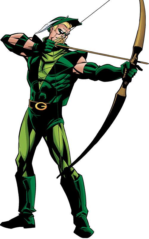 Green Arrow (DC Comics) by Phil Hester, Secret Files & Origins