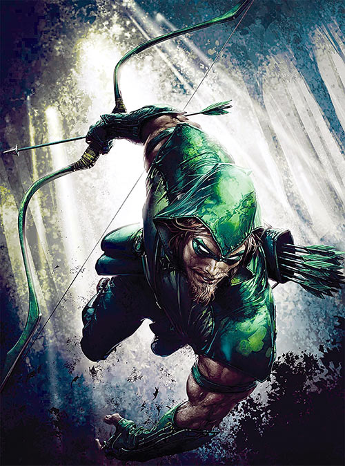Green Arrow (DC Comics) by Clayton Crain