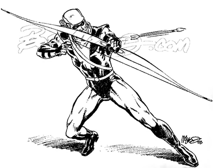 Green Arrow sketch by Bob McLeod