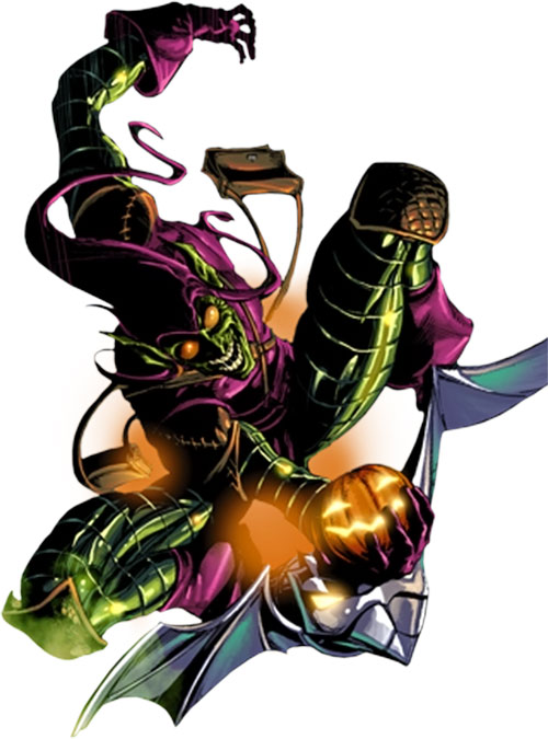 Green Goblin (Norman Osborn) (Marvel Comics) with the metallic costume