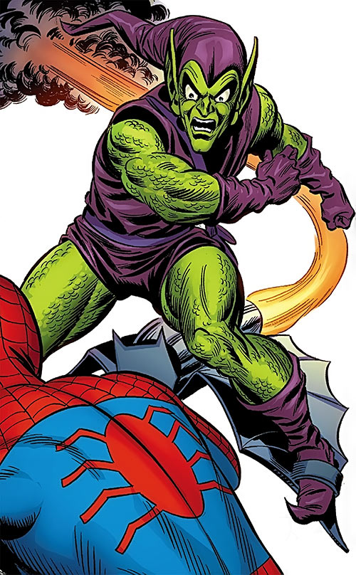 Green Goblin (Norman Osborn) (Marvel Comics) heralds the Bronze Age