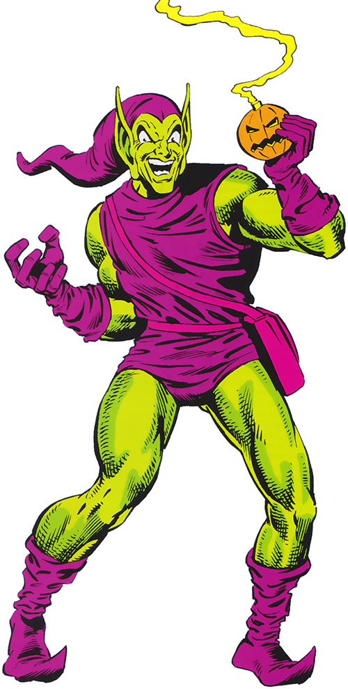 Green Goblin (Norman Osborn) (Marvel Comics) in his classic costume