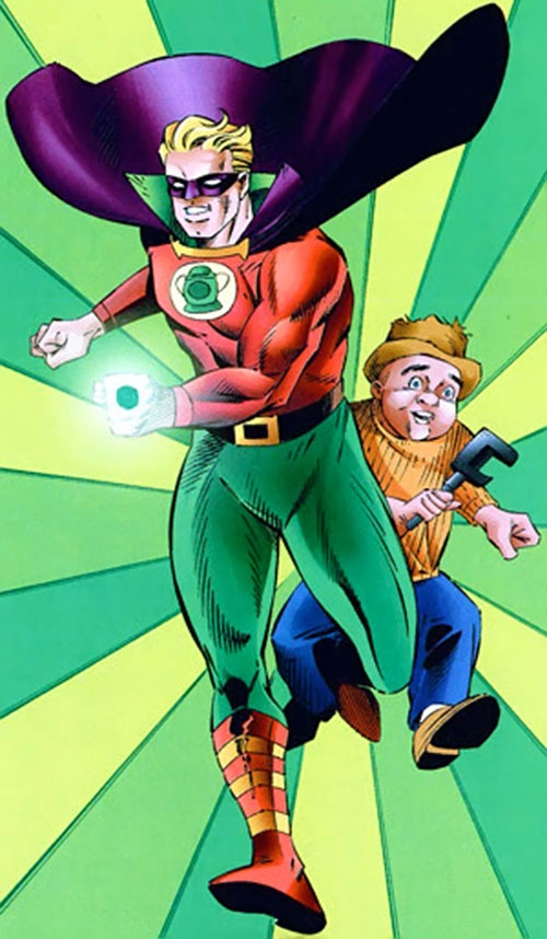 Green Lantern (Alan Scott) (DC Comics) and Doiby