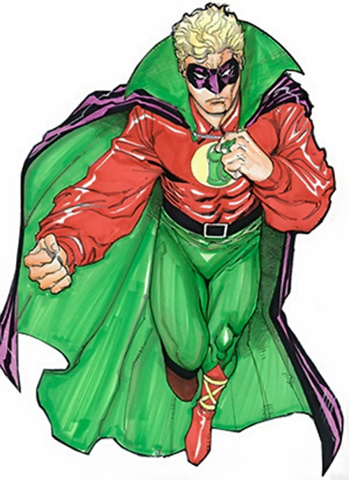 Green Lantern (Alan Scott) (DC Comics) by Lopresti
