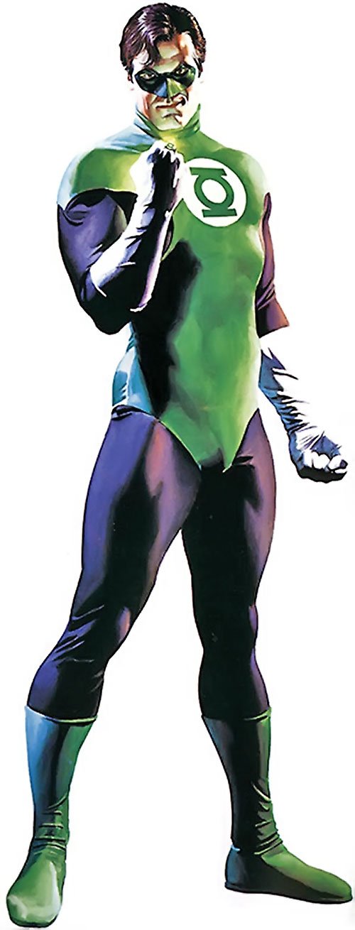 Green Lantern Hal Jordan (DC Comics) by Alex Ross