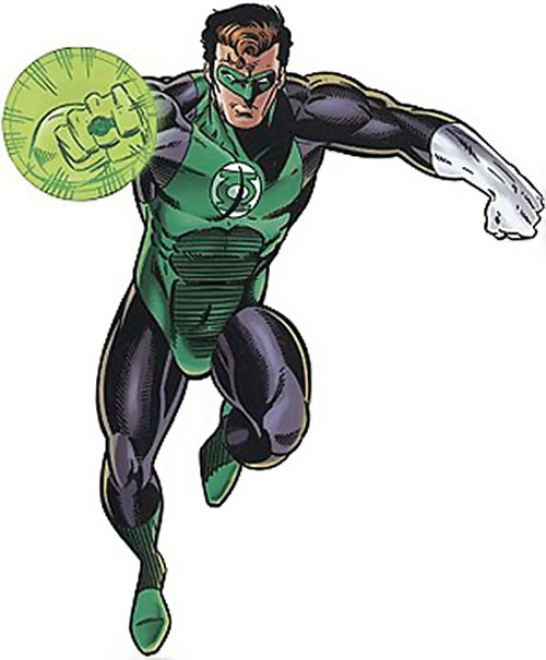 Green Lantern Hal Jordan (DC Comics) during the 1990s