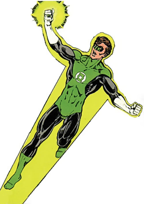 Green Lantern Hal Jordan (DC Comics) during the 1960s