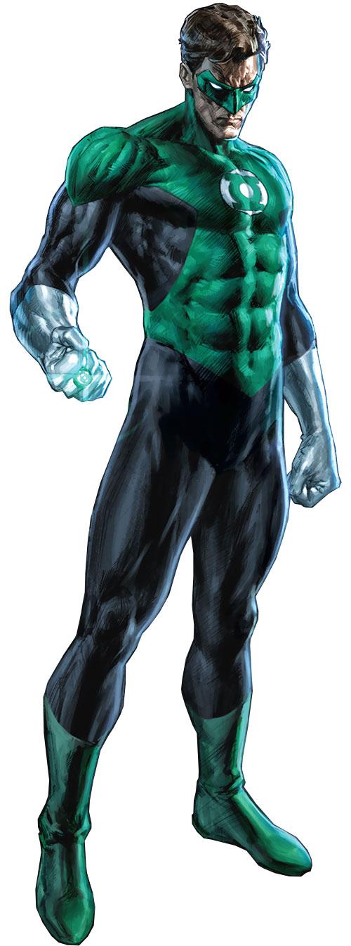 Flash With Green Lantern Ring