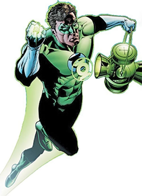 Green Lantern Hal Jordan (DC Comics) during the 2000s