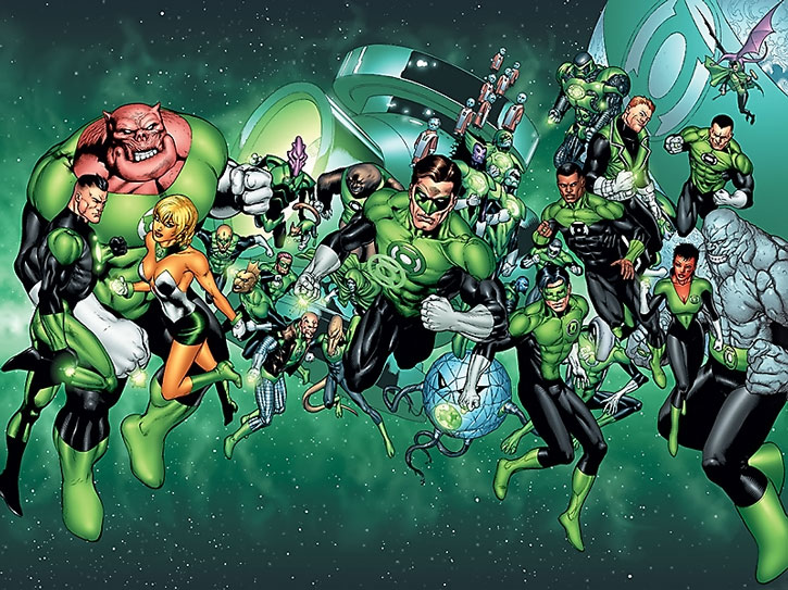 The Green Lantern Corps during the 2010s